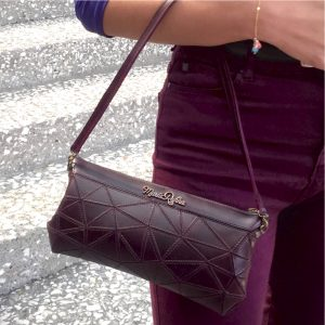 Clutch Zipper Bag Piel